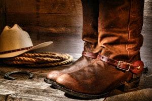 Shine Those Boots for the Tucson Rodeo